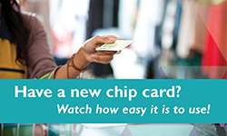Chip Card Instructions